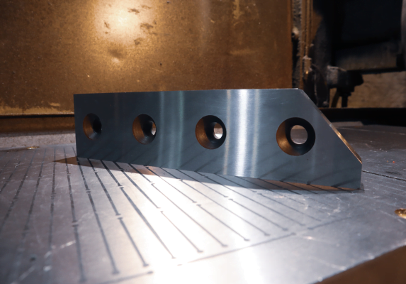 Rail breaker blades